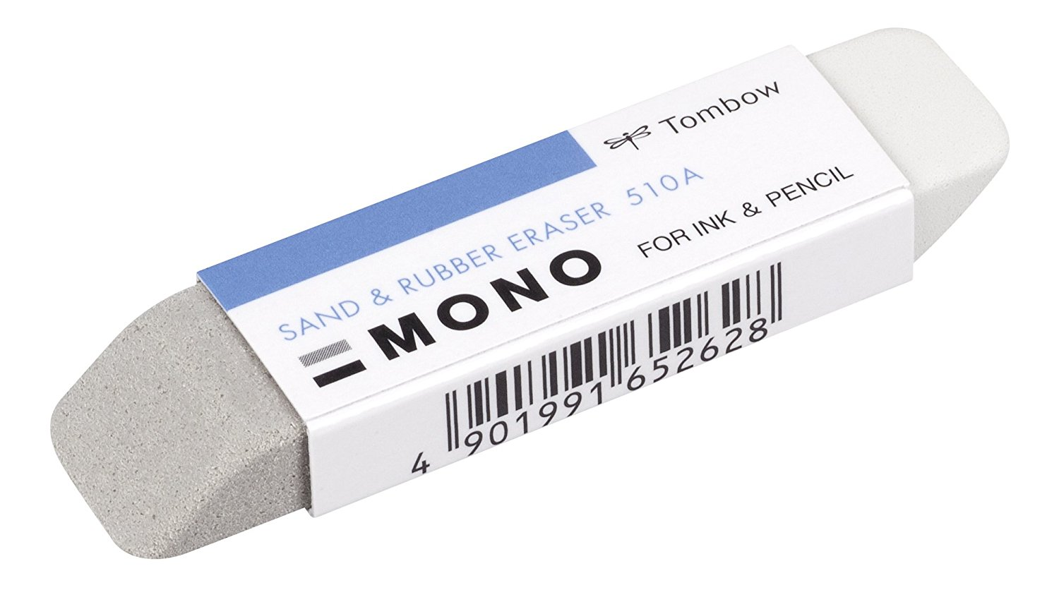 Combination Sand and Rubber Eraser