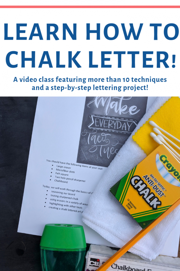 Lettering with Lesley Chalk Lettering