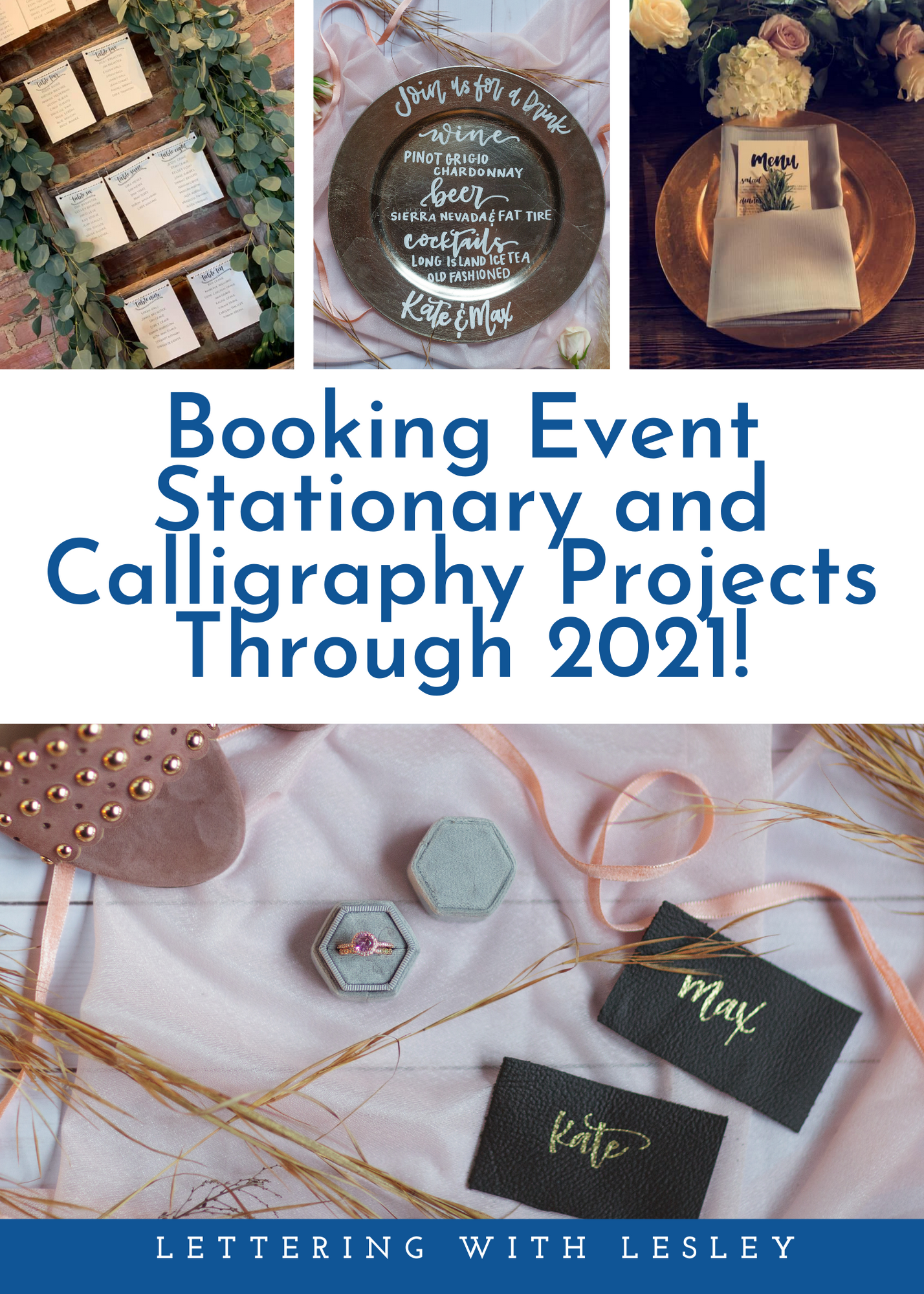 Now Booking through 2021!