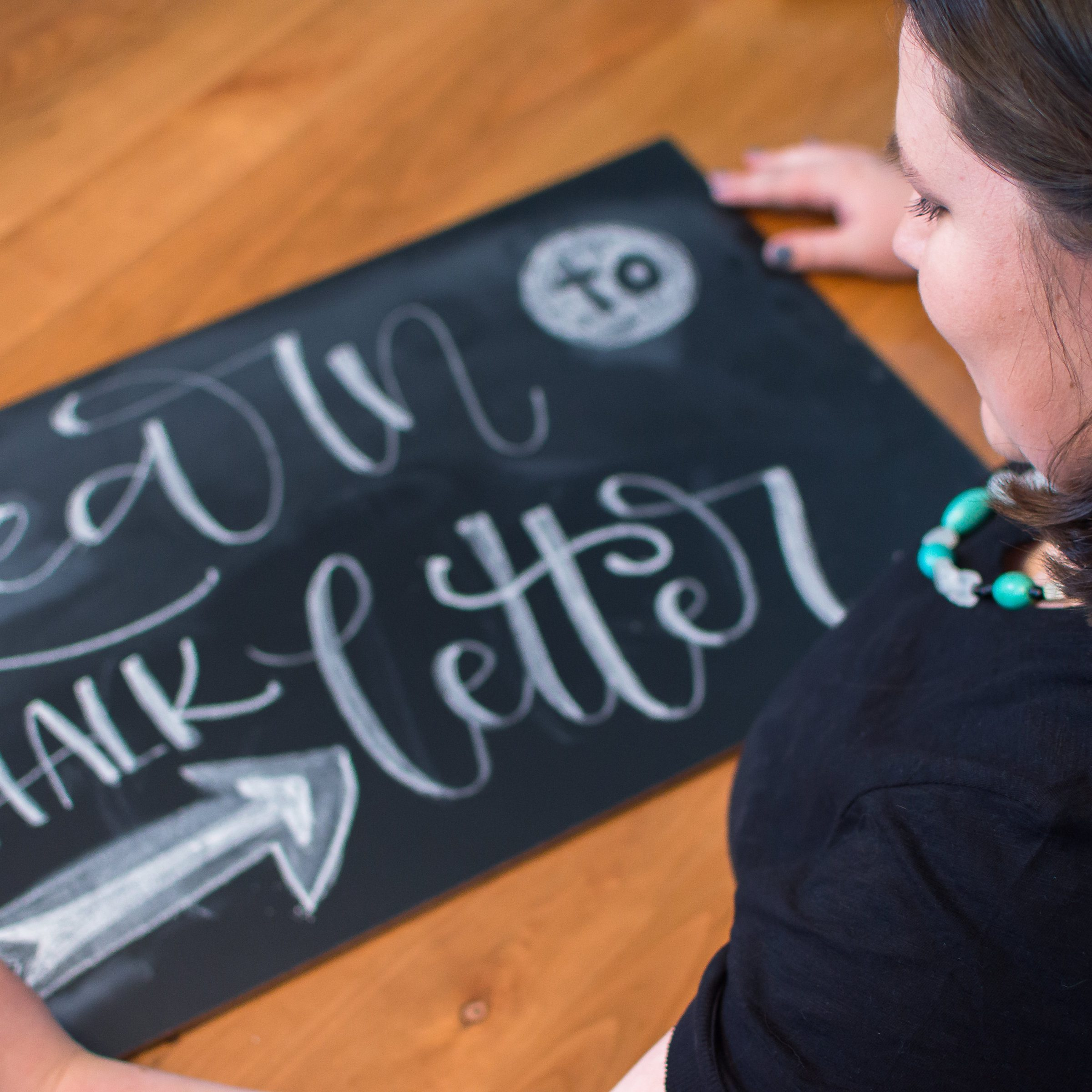 Learn to Chalk Letter